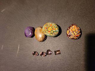 lot of precious stones