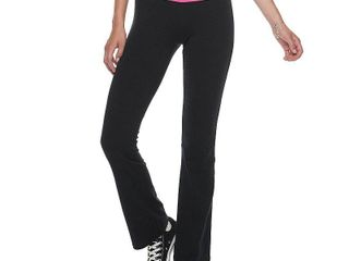 Juniors  SO Straight Blocked Skinny Boot Pant  Girl s  Size  large  Black