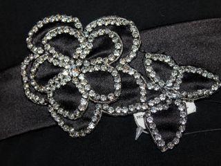 Belsoie Bridal Event Belt Size 12 Black