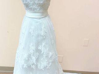 Casablanca Bridal Size 10 Bridal Gown