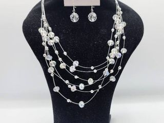 Necklace and a Pair of Earrings