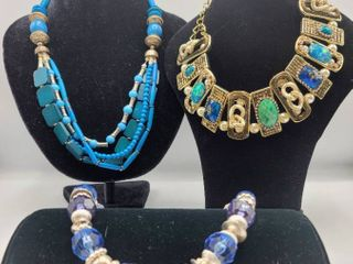 3 Colorful Statement Necklaces   Brand lucia