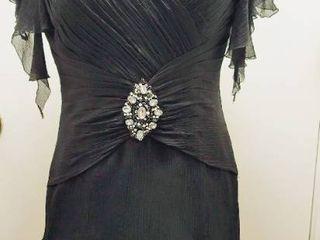 Aire Barcelona Size 12 Black Dress