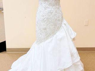 David Tutera Size 10 White Bridal Gown