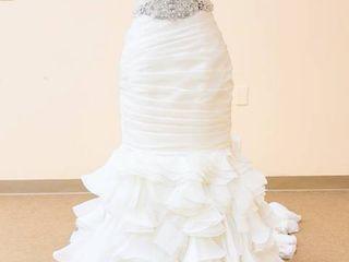 Maggie Soterro size 12 White Wedding Gown