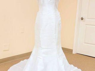 J adore size 12 Designer White Bridal Gown