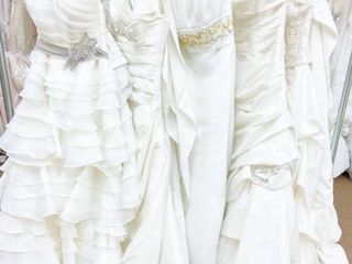 Fabulous Five   lot of Assorted Designer Bridal Gowns