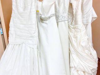 Fabulous Five   lot of Designer Sample Bridal Gowns