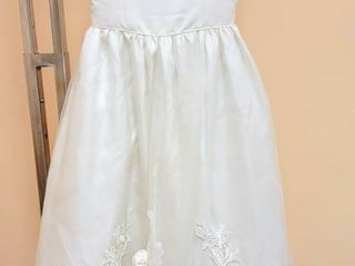 The Sweetie Collection Size 8 Ivory Flower Girl Special Occasion Dress