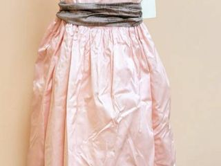 Dimples los Angeles Size 12 Pink Silk Flower Girl Special Occasion Dress