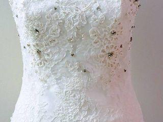Pronovias Size 8 Off White Bridal Separates Bustier Top
