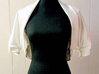 Sottero and Midgley Size 10 White Wedding Bridal Bolero Jacket