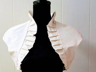 Paloma Blanca Size 12 Ivory Natural Designer Wedding Bridal Bolero Jacket
