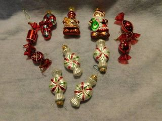 lot of 11 Christmas Ornaments