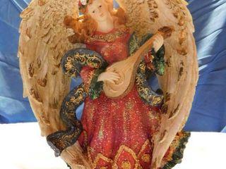 15  Angel Playing a Harp