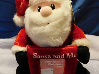13  Plush Santa Frame
