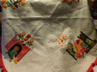45  Hand Made Tree Skirt