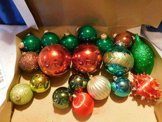 Christmas Bulbs Ornaments
