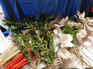large lot of Floral   Greenery