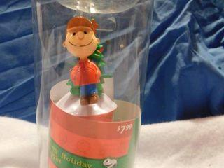 Glittery Charlie Brown Holiday Night lIght