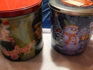 Holiday Tins Christmas Story   Snowman