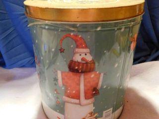 Tin full of Christmas Items