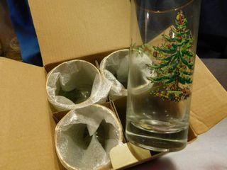 Spode Christmas Tree glasses