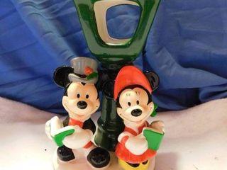 Mickey   Minnie Ceramic Candle Holder