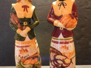 Set of Pilgrim Figurines