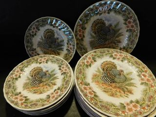 Thanksgiving dishes by Queens Mayat Factory made in Columbia
