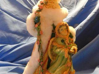 Ornate Santa Figurine