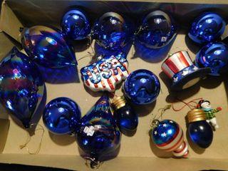 Patriotic Christmas Bulbs