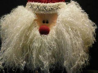 Santa Door Hanger  Fluffy   Cute