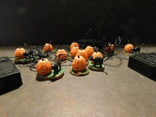 Pumpkin lights Table Decor