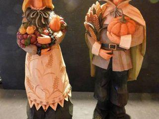 Resin Pilgrams Figurines