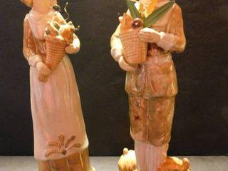 Glossed Ceramic Pilgram Set