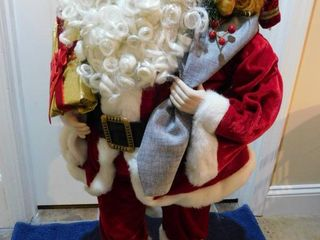 36  Santa with Porcelain Face   Hands