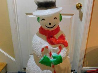 40  Plastic Snowman Decoration