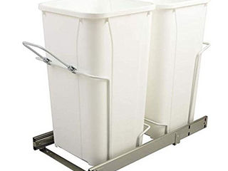 Sliding Double Soft Close Waste Bin