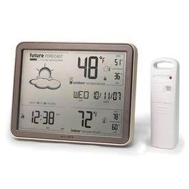 AcuRite Digital Weather Station w  Clock  amp  Wireless Outdoor Sensor