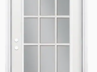 Flush Insulated Steel Exterior Door