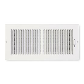 Accord Sidewall Ceiling Register w  2 Way Design