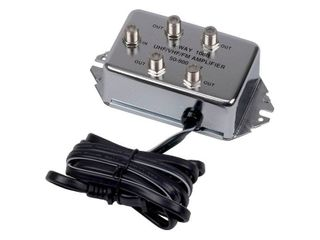 RCA 4 Way Video Signal Amp   Splitter