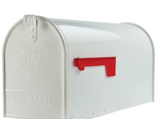 Gibraltar Mailboxes Elite large Post Mount Mailbox