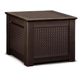 Rubbermaid Patio Chic Outdoor Storage Deck Box