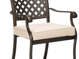 allen   roth Queensbury Metal Chairs   Set of 2