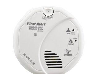 Smoke  amp  Carbon Monoxide Alarm w  Voice   2 pack