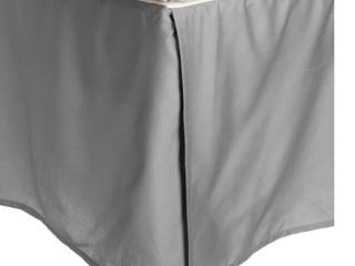Miranda Haus 300 Thread Count Combed Cotton Drop Bedskirt   Twin
