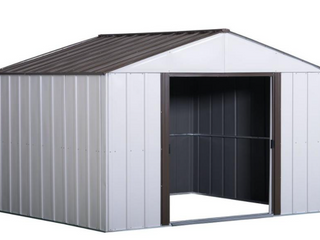 Galvanized Steel Shed 8x10ft