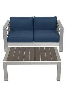 Kinbor Kinsunny Outdoor Aluminum Conversation Set